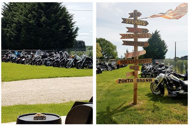 Voyage de motards en Touraine